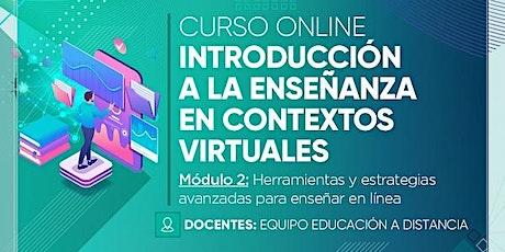 Curso online: Introducción a la enseñanza en contextos virtuales MODULO 2 entradas