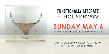 Wordplay at Timucua: Functionally Literate + Housewifes @ Timucua (Rebroadcast) tickets