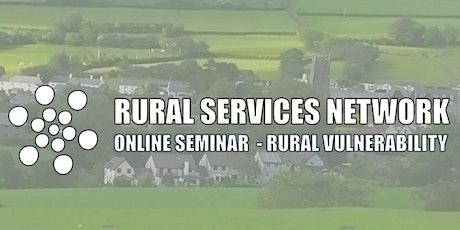 RSN Seminar: Rural Vulnerability tickets