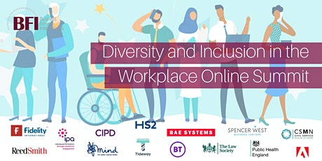 Diversity and Inclusion in the Workplace Online Summit tickets