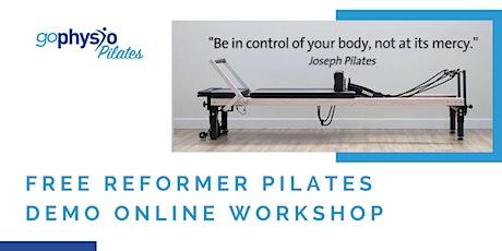 Free Reformer Pilates Online Demo tickets