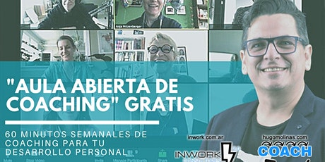Aula Abierta de Coaching GRATIS tickets