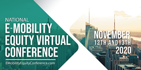 E-Mobility Equity Conference 2020 tickets
