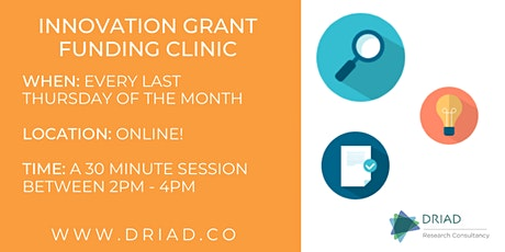 Grant Funding Clinic tickets