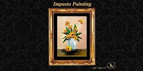 Workshop : Impasto Flower (Sunday) tickets