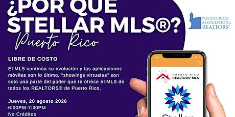 ¿Por qué Stellar MLS®? entradas