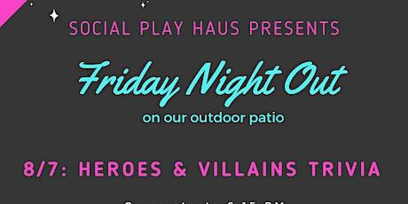Trivia Night: Heroes & Villains tickets