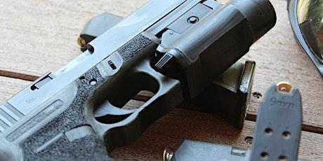 Handgun Safety & Handling tickets