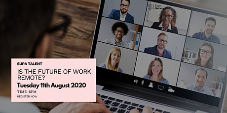 Is the Future of Work Remote? tickets
