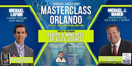 [VIRTUAL] Masterclass Orlando: Habits & Mindsets of Elite Agents tickets