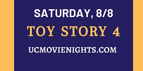 UC Movie Nights: Toy Story 4 tickets