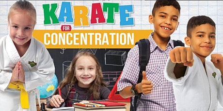 Karate For Concentration Virtual Zoom Broadcast  Workshop 8/29/20 tickets