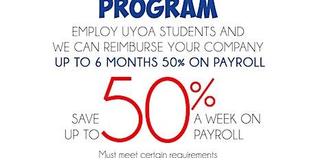 UYOA Virtual Job Fair tickets