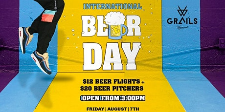 International Beer Day tickets