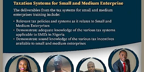 Taxation Systems for Small and Medium Enterprise tickets