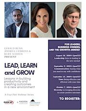 Lead, Learn, Grow tickets