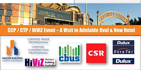 Adelaide Oval  and New Adelaide Oval Hotel Site Visit tickets
