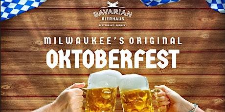 2020 Oktoberfest at Bavarian Bierhaus Table Reservations tickets