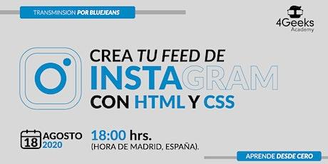 Crea tu feed de Instagram con HTML y CSS biglietti