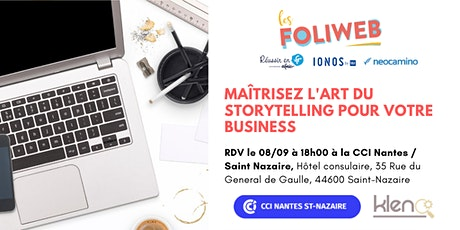 [Saint-Nazaire] Maîtrisez l'art du storytelling pour votre business billets