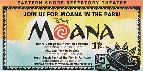 Moana JR at South Beach Park at the Pier in Fairhope tickets