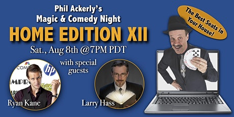Magic & Comedy Night - Home Edition XII tickets