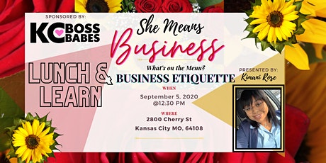 She Means Business Lunch & Learn tickets