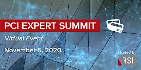 PCI Expert Summit tickets