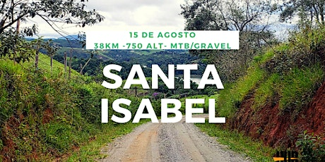 Rota Santa Isabel - 38 km - Intermediário + tickets