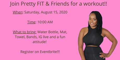 Pretty FIT & Friends Workout Session tickets