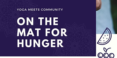 On the Mat for Hunger, benefitting Gleaners Food Bank tickets