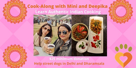 Cook-Along for a Cause - Learn Authentic Indian Cooking tickets