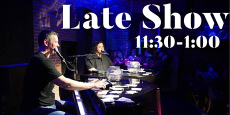 Dueling Pianos Late Show at TOP of Pelham, Newport RI tickets