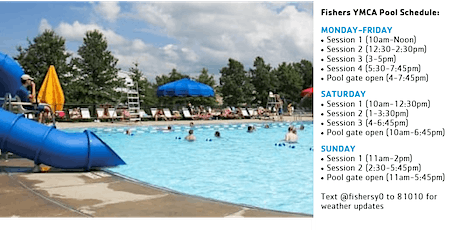 Fishers YMCA Outdoor Pool Reservations tickets