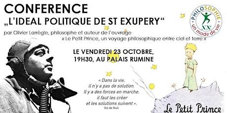 Idéal Politique de St Exupéry