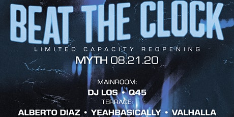 Outlet Fridays at Myth Nightclub | Friday 08.21.20 tickets