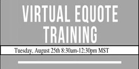 Virtual eQuote Training tickets