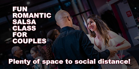 Fun & Romantic Salsa Class For Couples With Plenty Of Room To Distance tickets
