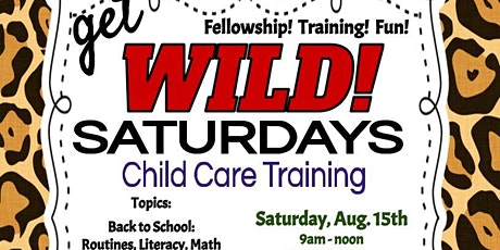 Hurst: Child Care Training Workshop- Back To School w/minimum standards tickets