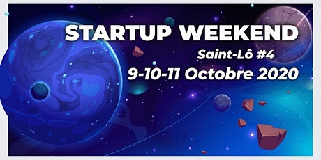 Startup Weekend Saint-Lô en Normandie 10 octobre 2020 billets