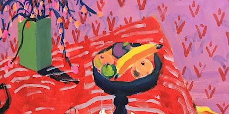 """Art Opening: Patricia Zinsmeister Parker """"The Still Life Still Has Life"""" tickets"""