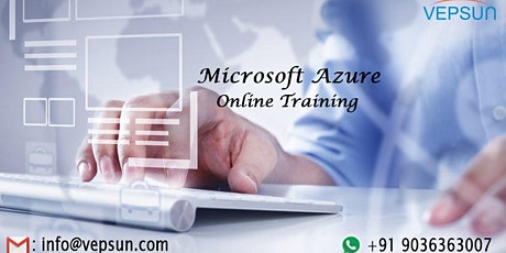 Azure Training | Online Instructor Led & Pure Hands-on Training | 60 Hours tickets