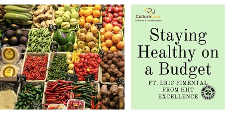 Staying Healthy on a Budget tickets