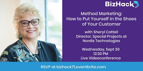 Method Marketing: How to Put Yourself in the Shoes of Your Customer tickets