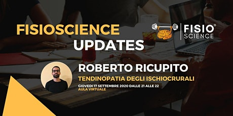 Roberto Ricupito - TENDINOPATIA DEGLI ISCHIOCRURALI biglietti
