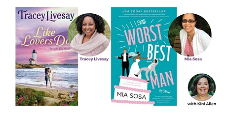 Virtual Romance Discussion with Tracey Livesay and Mia Sosa tickets