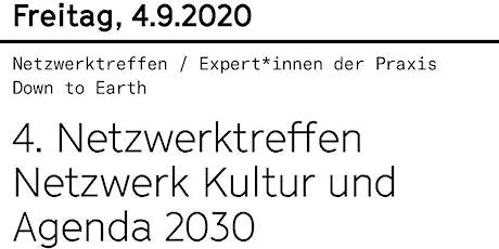 4. Netzwerktreffen Kultur und Agenda 2030 Tickets