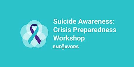 Suicide Awareness: Crisis Preparedness Virtual Workshop tickets
