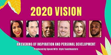 2020 Vision Personal Development Event tickets
