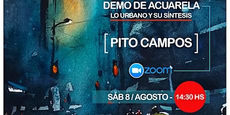 Demo Lo Urbano y su Síntesis - PITO CAMPOS entradas